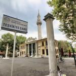 tesvikiye-camii-tabelasi-avlusu-minaresi-kubbesi
