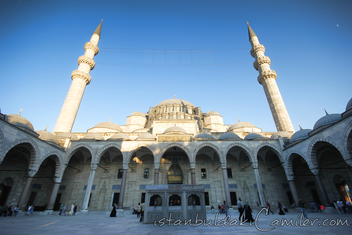 Suleymaniye Mosque Photo Gallery  MosquesInIstanbul.com