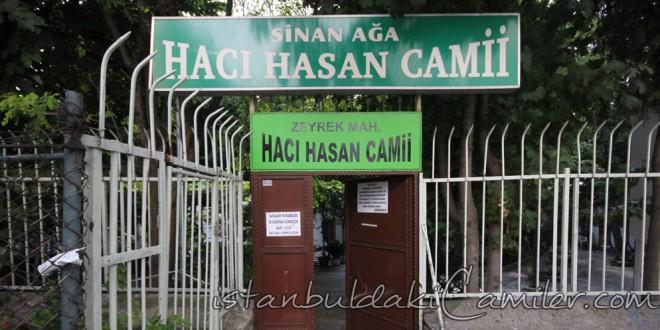 Hacı Hasan Camii - Haci Hasan Mosque