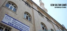 Cem Sultan Camii - Cem Sultan Mosque