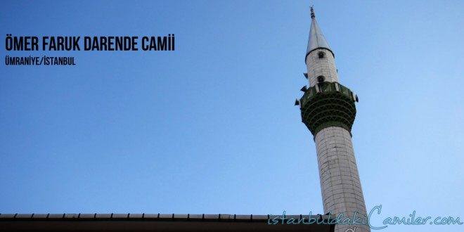 Ömer Faruk Darende Camii - Omer Faruk Darende Mosque