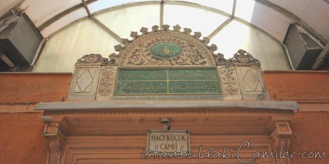 Hacı Küçük Camii- Haci Kucuk Mosque