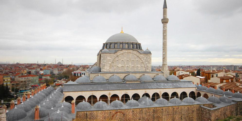Mihrimah Sultan Mosque , Edirnekapi  MosquesInIstanbul.com