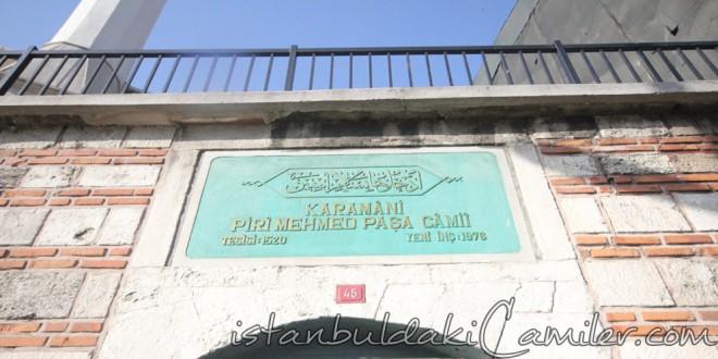 Piri Mehmet Paşa Camii - Piri Mehmet Paşa Mosque
