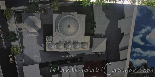 Parmakkapı Camii - Parmakkapi Mosque